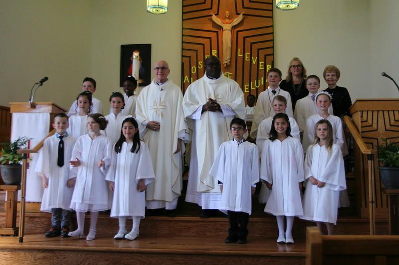 2018-Apr: Josee's First Communion