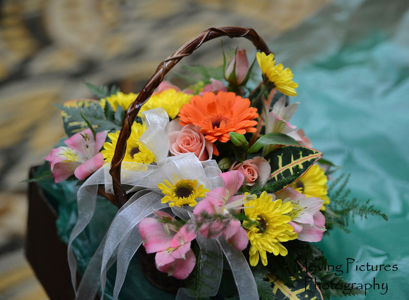 Cici's basket of flowers