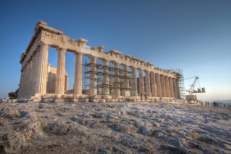 Pericles' Parthenon. Athens, Greece.