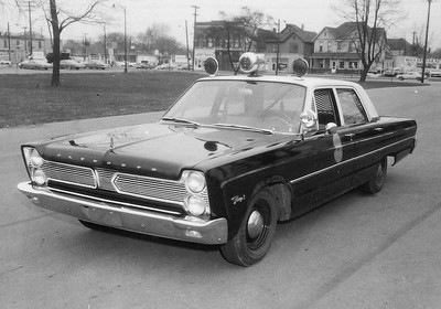 Old IPD Plymouth Fury Police Car