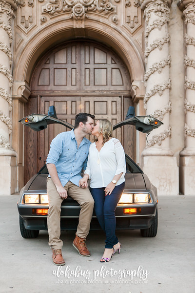 Balboa Park Engagement Photographer | Stacey + Alex