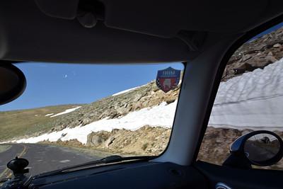 MINIs on Mount Evans