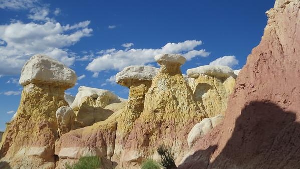Calhan, Colorado on the Eastern Plains: Paint Mines Interpretive Park