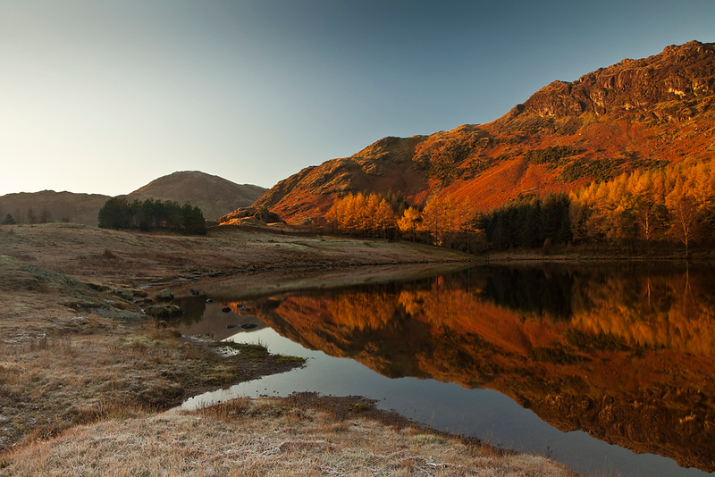 Blea Tarn frosty morning