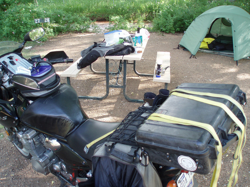 JULY 1: Lone Duck Campground, Cascade, CO.