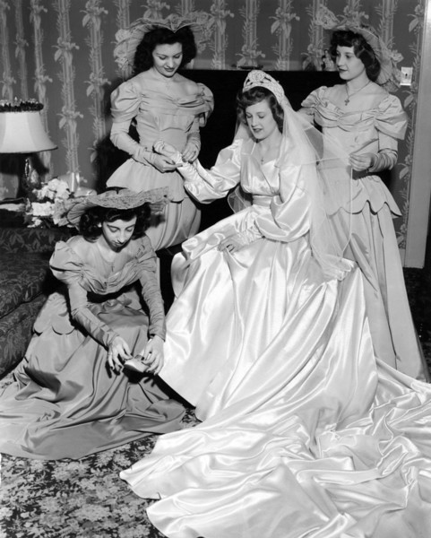 Aunt Esther and Uncle Ray's Wedding 1948