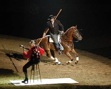 An Evening of Dancing Horses at the National Western Stock Show, January 2007, Denver, Colorado