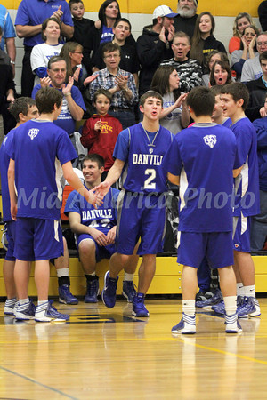 Boys Basketball, Danville vs Central Lee 1/11/2013