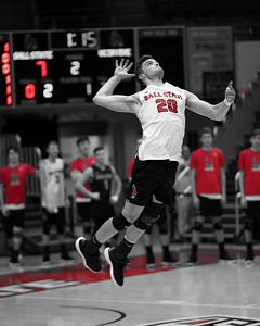 Ball State Men's Volleyball vs UC Irvine  1-7-19