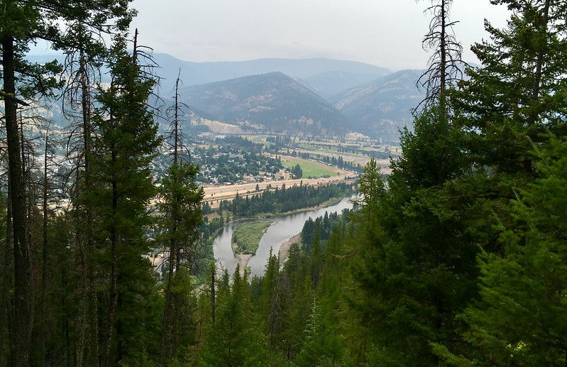 View to Missoula