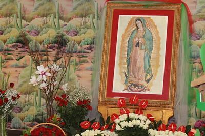 Nuestra Sra de Guadalupe - St. Aedan's 2018