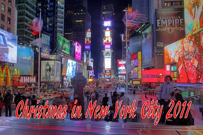 New York City Christmas 2011