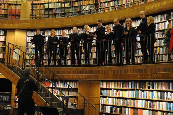 Bellman i juletid - Bellmanssällskapet på Stadsbiblioteket