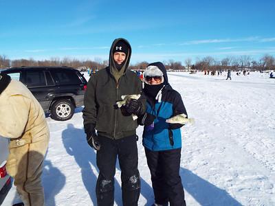 Watkins Sportsmen's ice fishing contest 2014