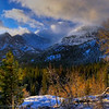 Storm on Long's Peak