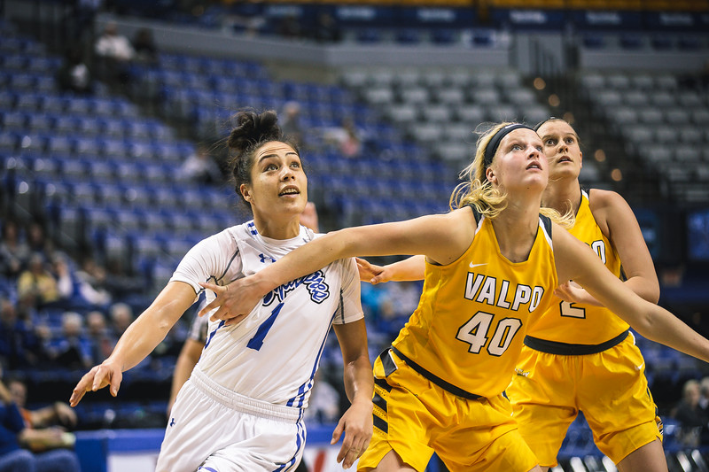 Indiana State takes the Valparaiso Crusaders on Friday, February 23, 2018 at the Hulman Center in Terre Haute, Indiana.