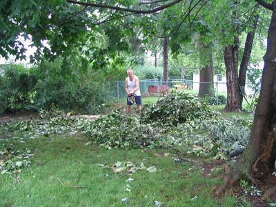 Cleaning After The Storm in Allentown