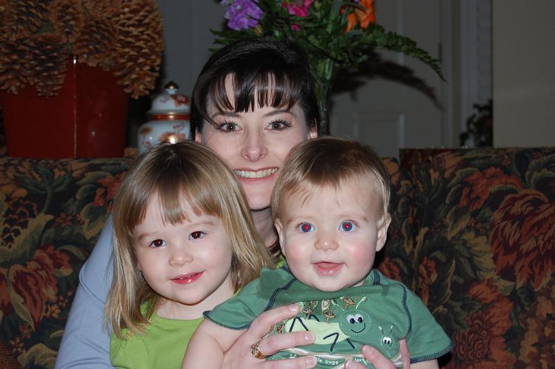Elliot, Olivia and Auntie Tracie