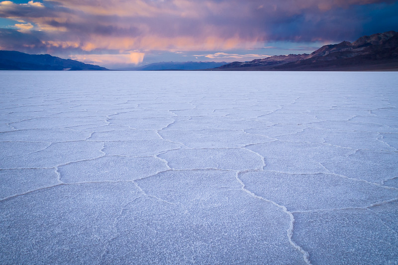 'Badwater Sunset' - Death Valley, California