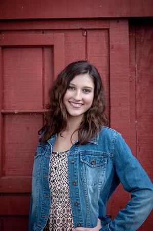 Kelsey - senior 2015