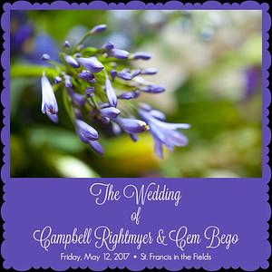 Campbell Rightmyer & Cem Bego Wedding