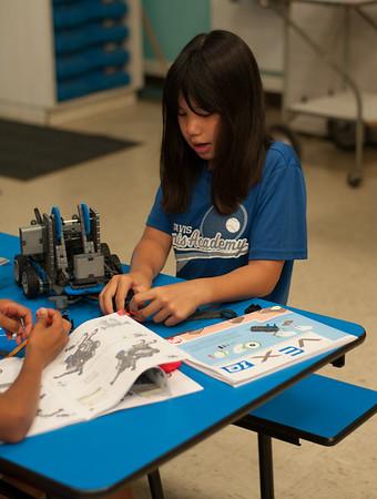 Davis Youth Robotics Summer Robotics Camps
