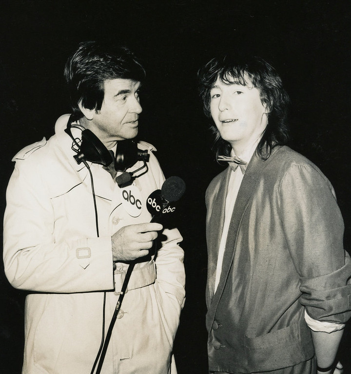 . NYRE 1985 Dick Clark and Julian Lennon