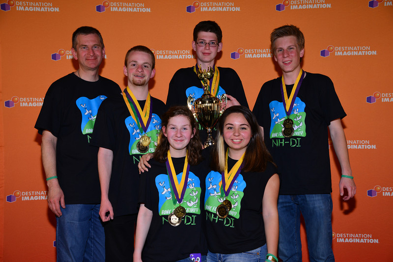 Lebanon High School, The Central New Hampshire Improv Troupe, First Place in the World, Improvisational Challenge.
