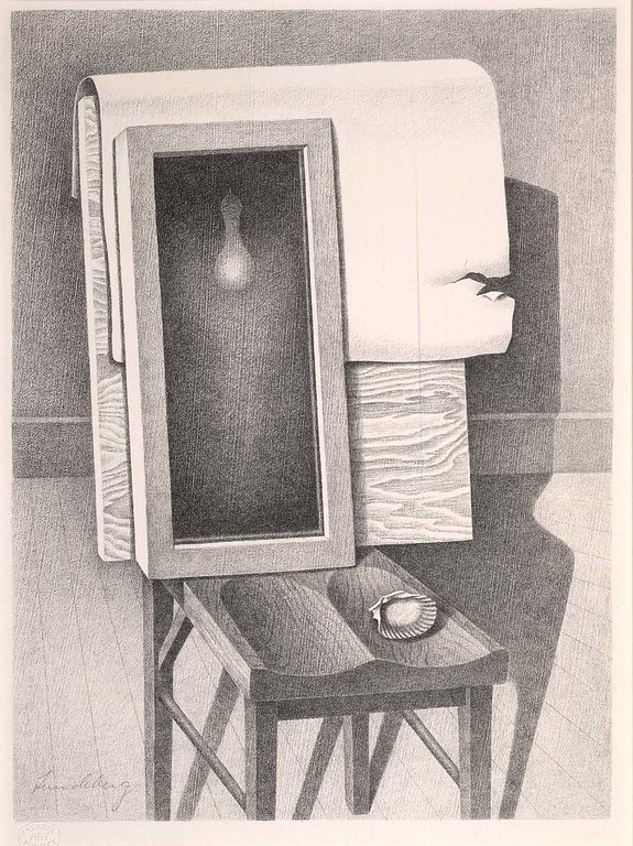 """Helen Lundeberg, """"Enigma"""" (1937)"""