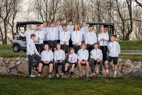 Boy's Golf Team 2021