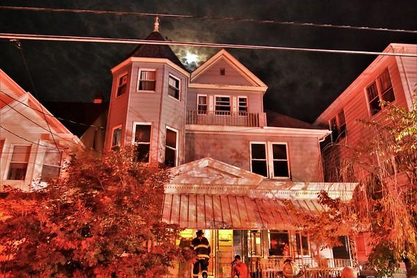 Hazleton city 139 734 W Diamond Ave smoke in a structure