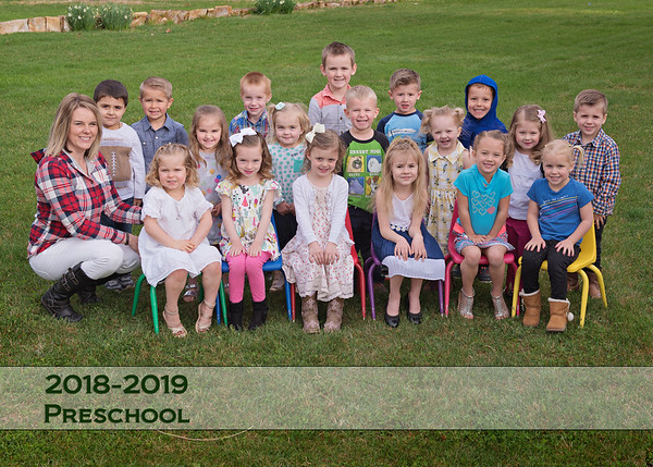 Homedale Preschool Spring 19