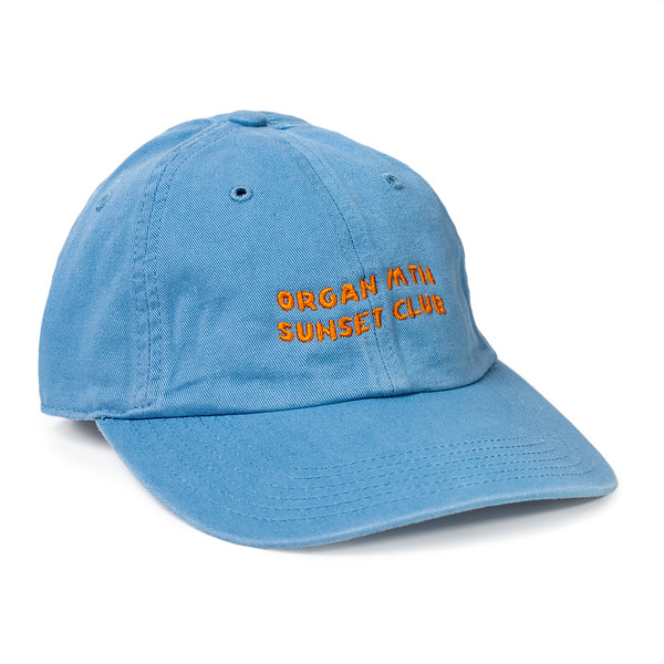 Outdoor Apparel - Organ Mountain Outfitters - Hat - Sunset Club Dad Cap - Columbia Blue.jpg