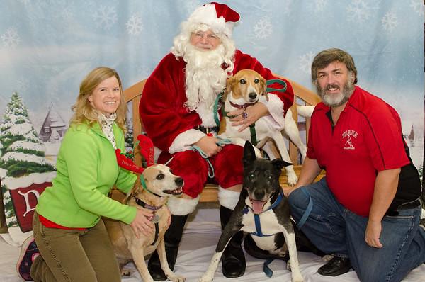 2016-12 - Santa Paws photos