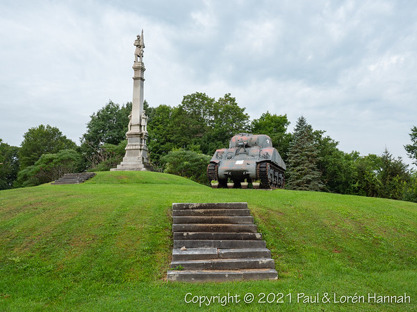Veterans Memorial - Antwerp, NY - M4A3(75)