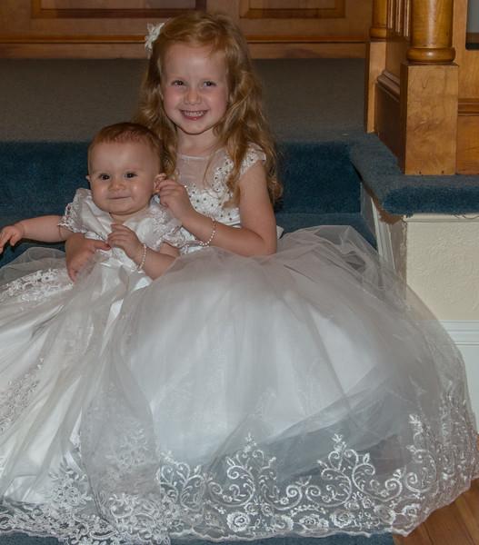 Lucy & Eleanor Baptism