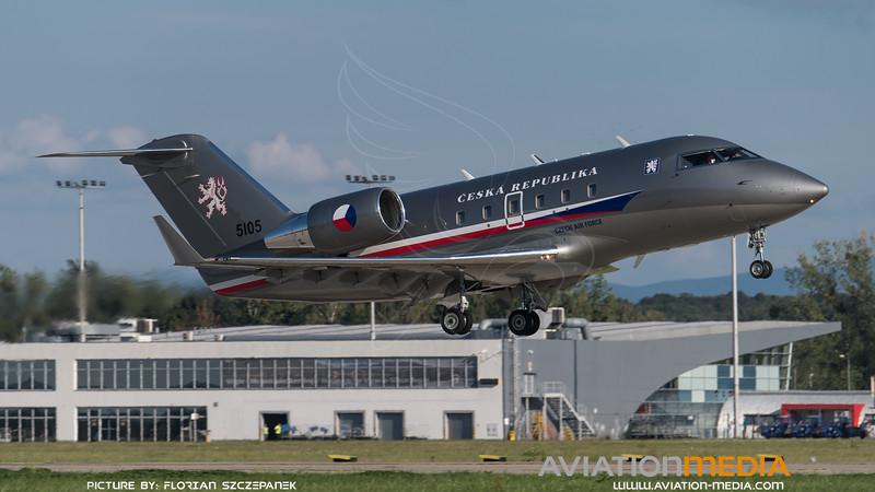 Czech Air Force / Bombardier Challenger 601 / 5105