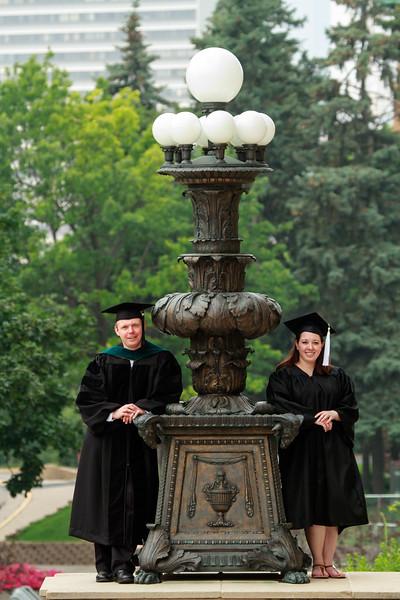 JP and Jessica Graduation Photos
