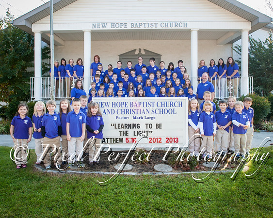 2012-2013 Classes & Staff