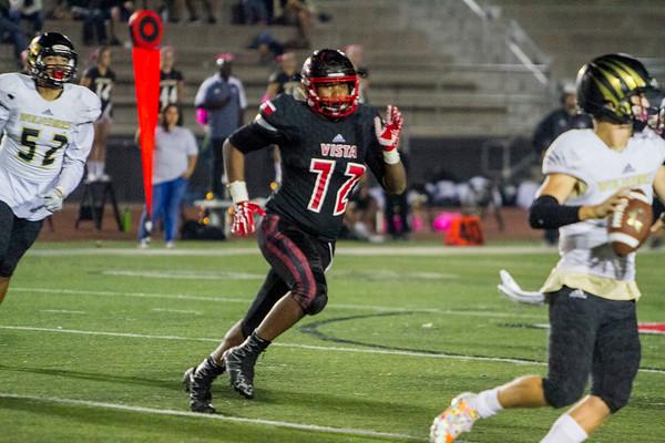 2017 10 27 Vista High School Panthers vs. Westview High School Wolverines