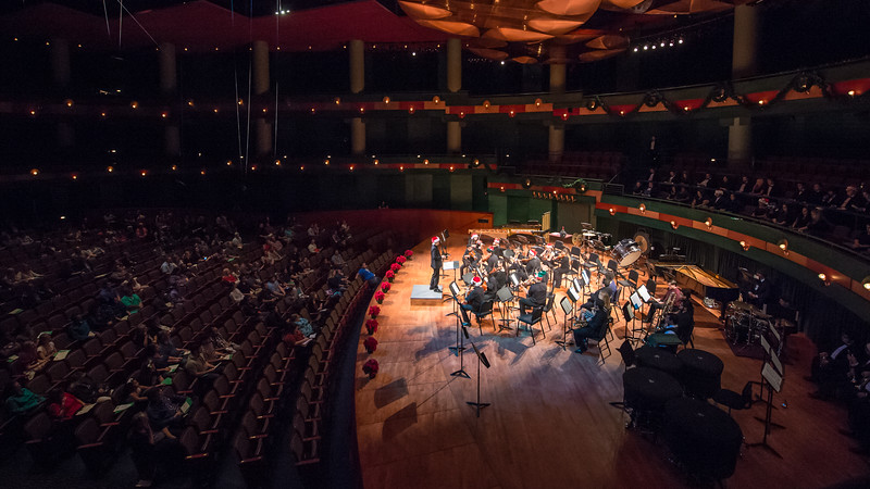 The Department of Music at Texas A&M University-Corpus Christi presented its 15th Annual Holiday Gala Concert held November 20, 2017 in the Performing Arts Center. The concert featured students from the Department of Music.