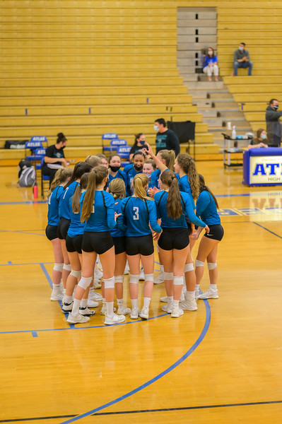 2021-04-20 Hickory vs Atlee Girls Volleyball