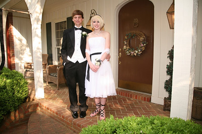Elizabeth and Date Before the Prom 4/25/2009