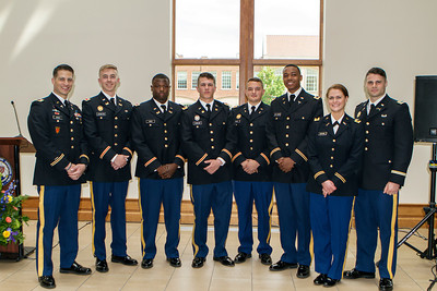 May 2018 - ROTC Commissioning