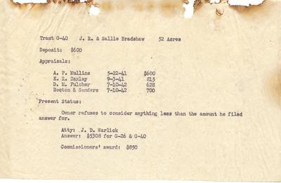 G-40 J. R. Bradshaw