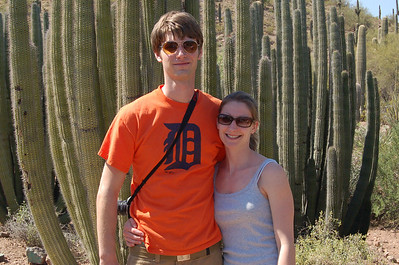 2008, Spring with Laura and Corey in Scottsdale
