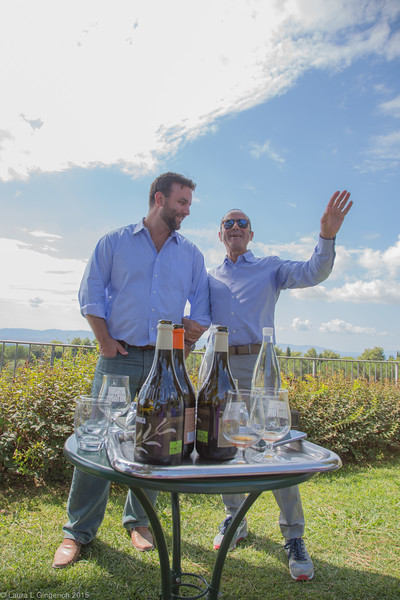 Agostino Lenci is living his dream, making wine that has received raved reviews from the toughest critics around the world.