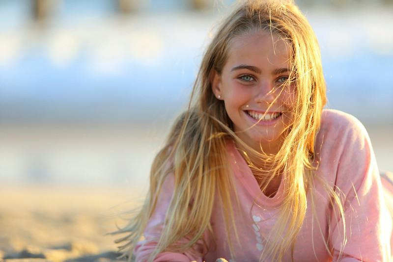 Millie Beach Shoot