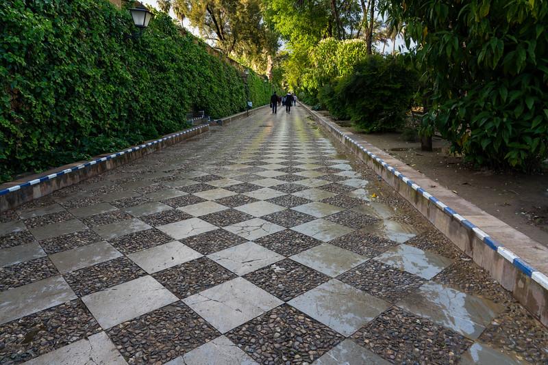 Park in Sevilla