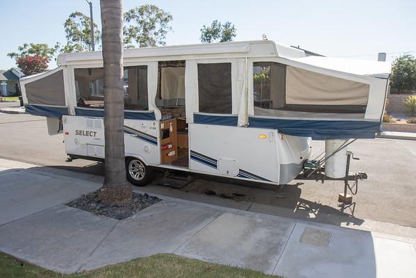 New Pop Up Tent Trailer
